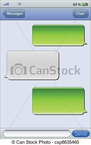 Message Text Box Clip Art