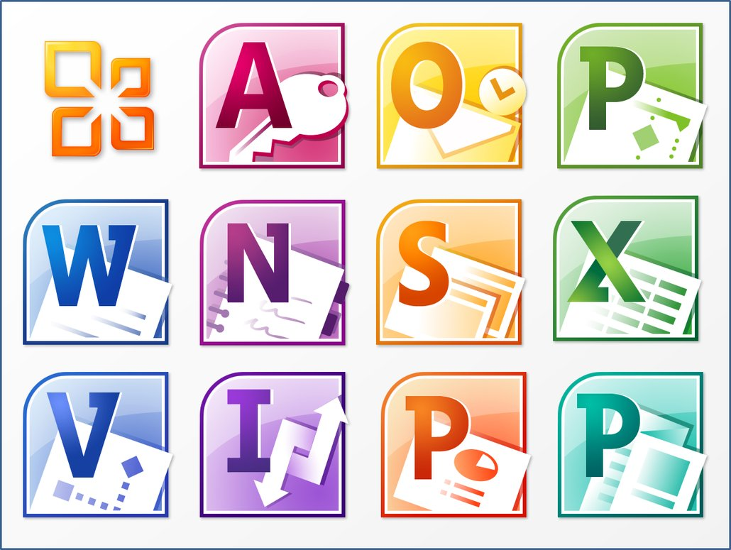 16 Microsoft Icons Clip Art Images