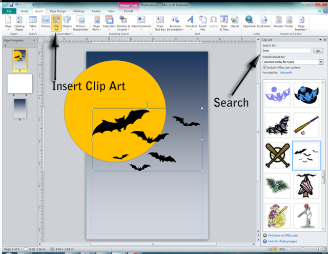 Microsoft Publisher 2010 Clip Art