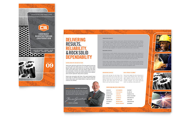13 microsoft word trifold template images blank tri fold