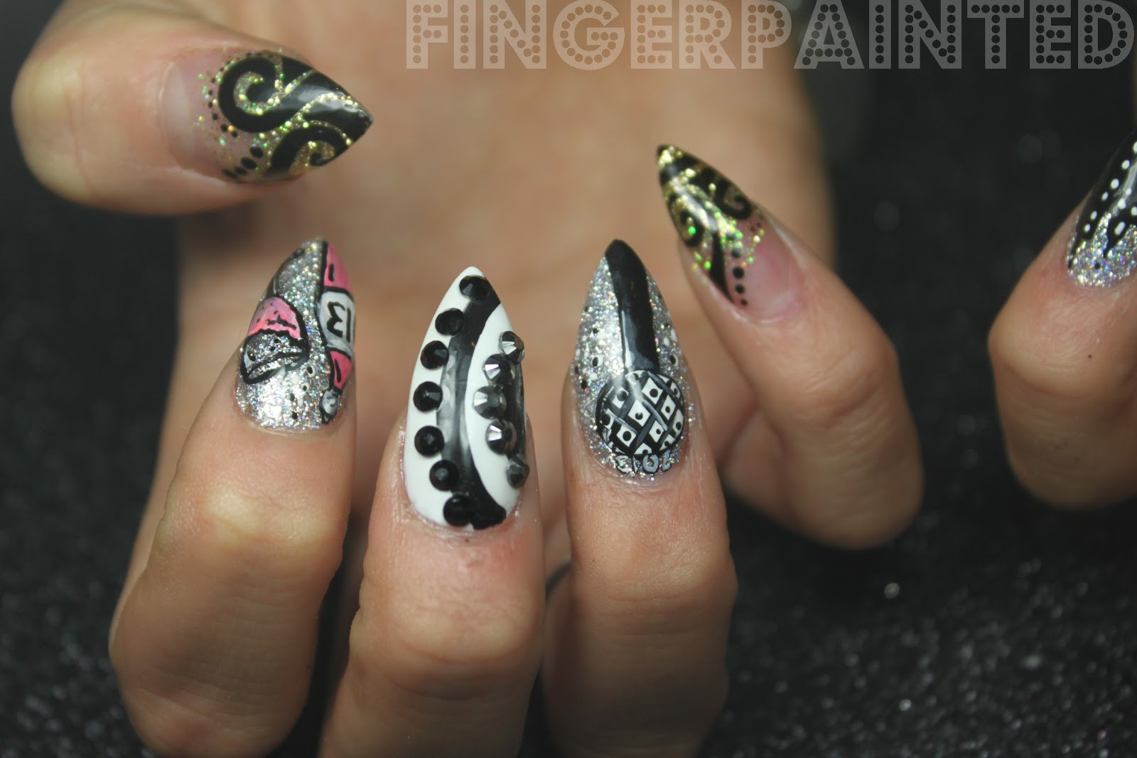 New Stiletto Nail Designs | Best Nail Designs 2018