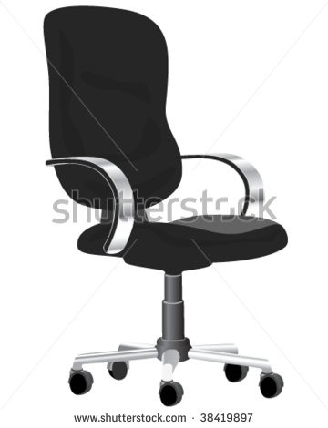 16 Modern Office Chair Vector Images