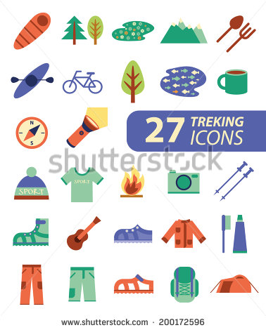 Outdoor Activities Symbols
