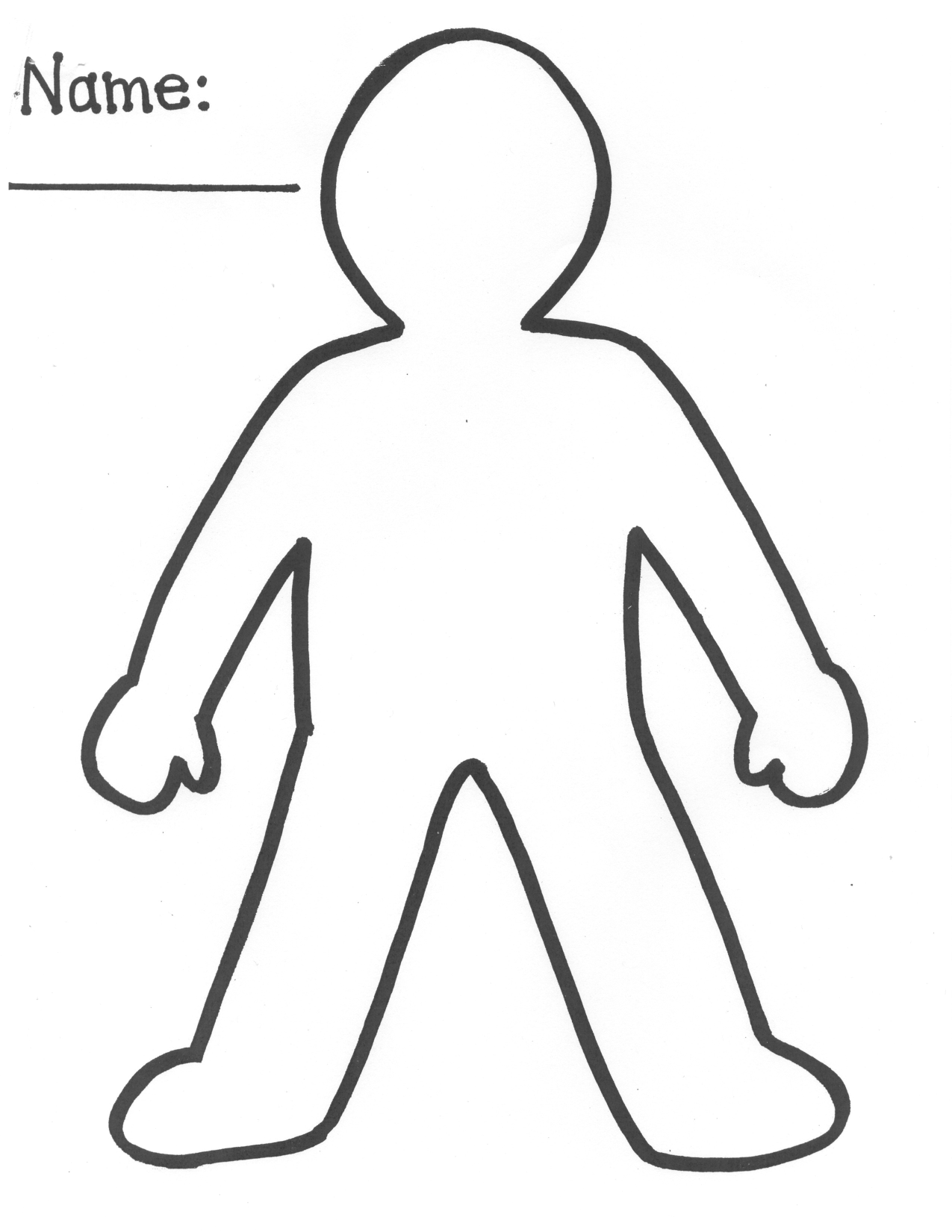 image regarding Printable Paper Doll Cutouts named 15 Slash Out All those Template Photos - Printable Paper Human beings