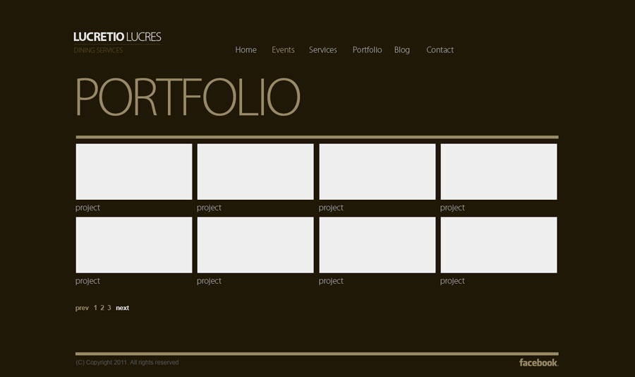12 Free Psd Portfolio Template With Html5 Images Free