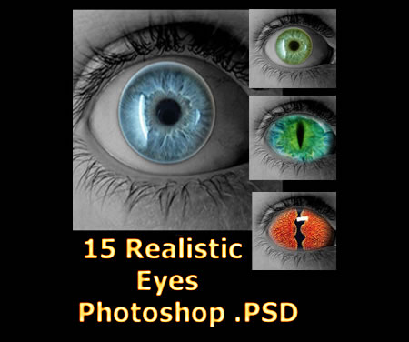 Photoshop Realistic Eyes