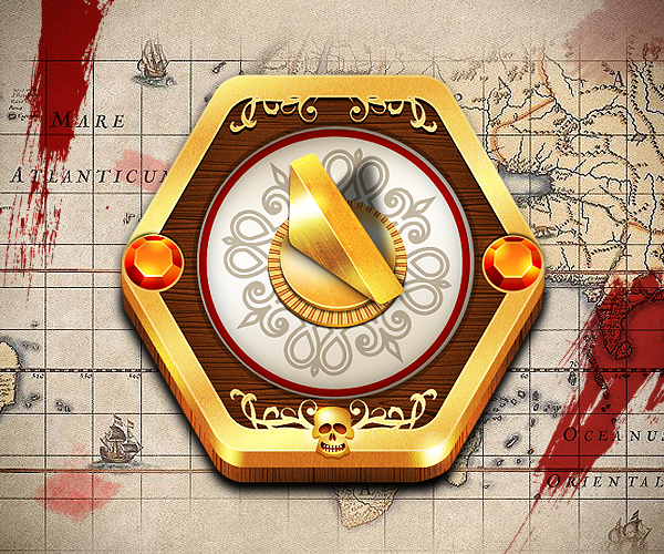 11 Pirate Compass Icon Images