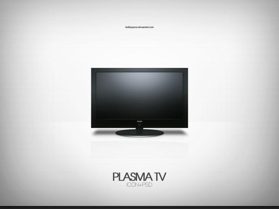 8 Plasma TV PSD Images
