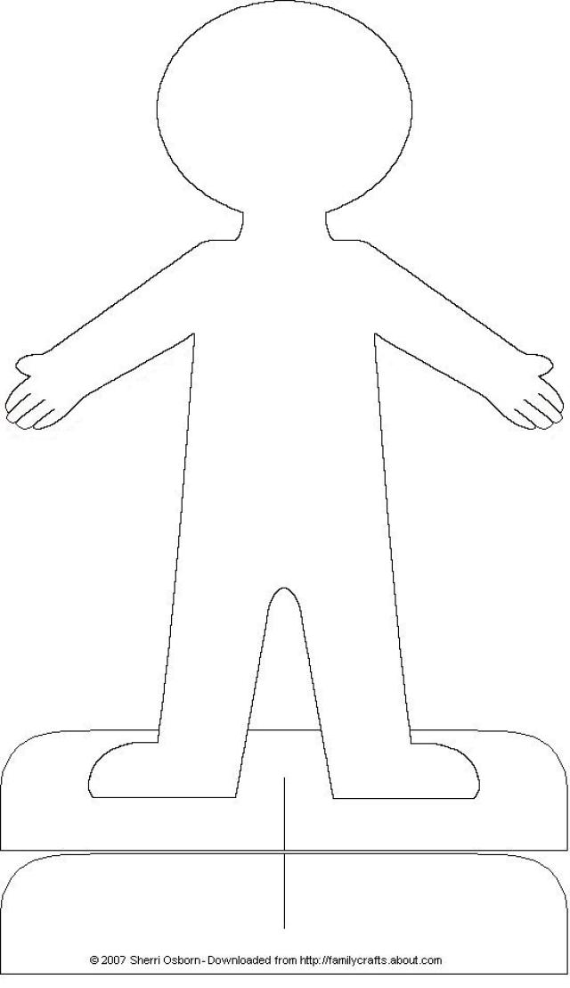 15 cut out people template images printable paper people cutouts