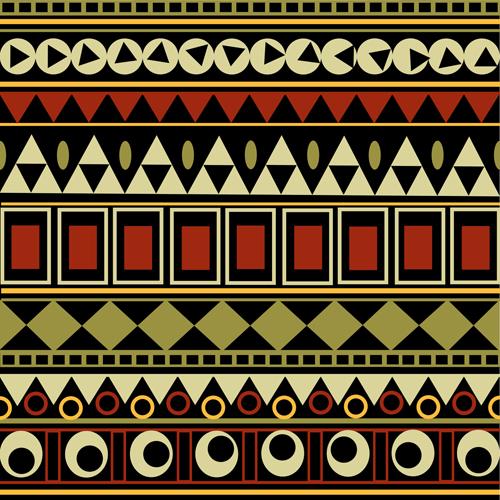Seamless Tribal Border Design