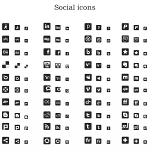17 300 Black And White Icons Images Black And White Icons
