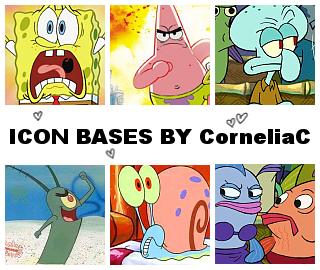 Spongebob deviantART Icons