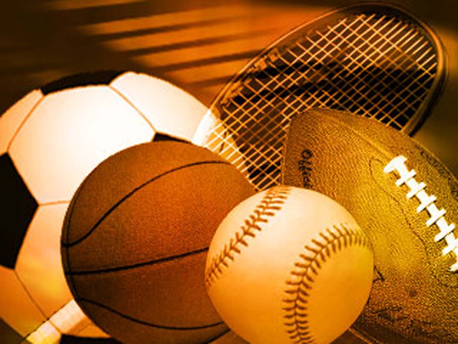 Sports Ball Desktop Background