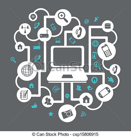Technology Clip Art Graphics