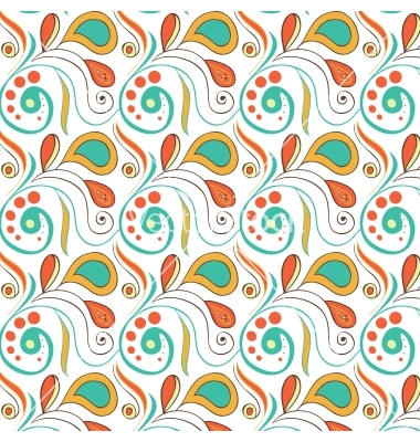 Vector Vintage Swirls Pattern