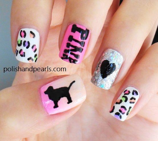 Victoria's Secret Pink Nails