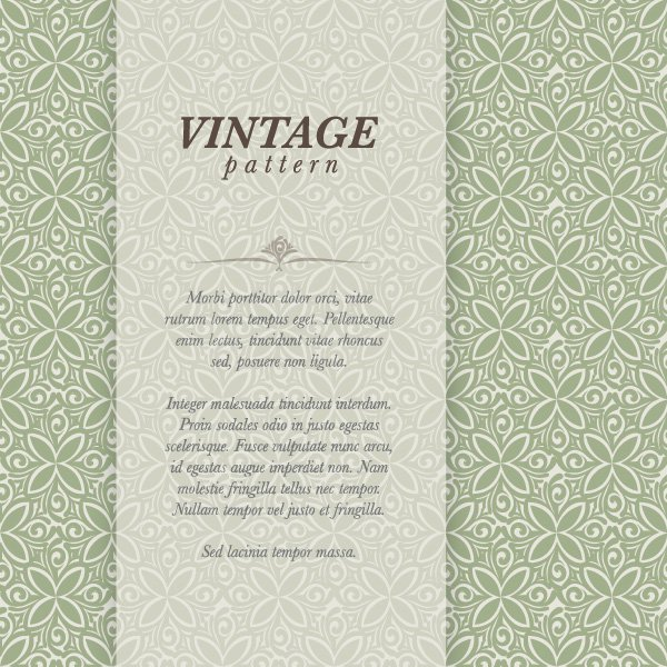 Vintage Graphic Pattern