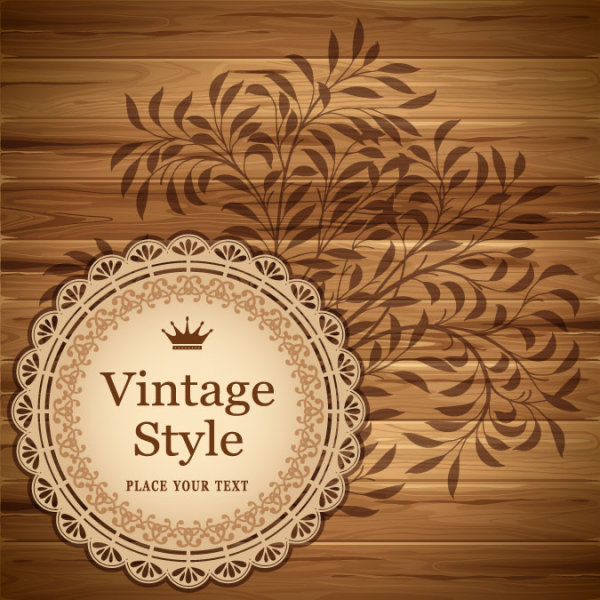 Vintage Lace Pattern Vector Free Download
