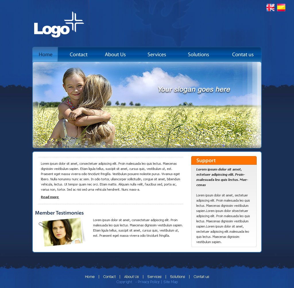 10 Free Dreamweaver Web Design Templates Images Free Dreamweaver
