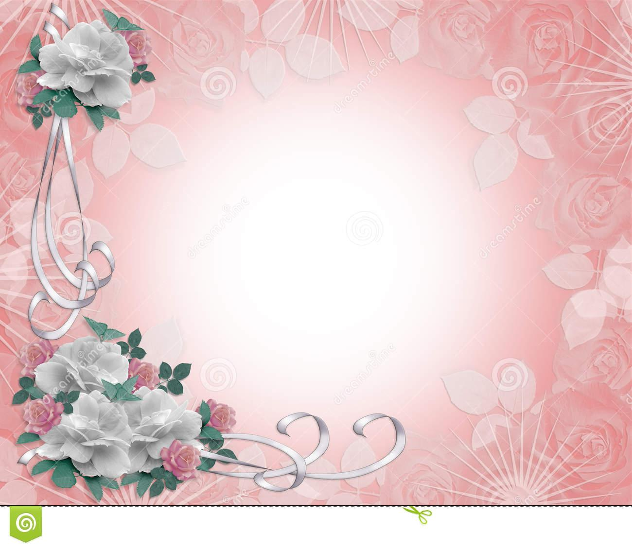 14 Wedding Invitation Background Designs Images Free