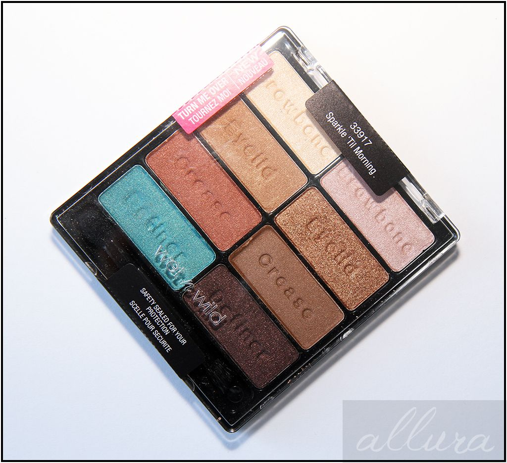 14 Wet'n Wild Icon Palette Images