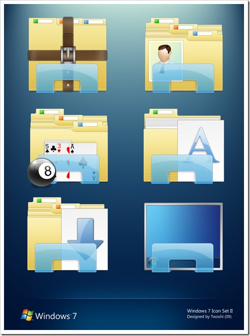 Windows 7 Folder Icons