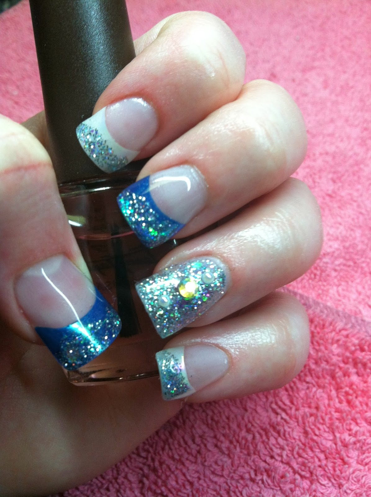 15 Acrylic Winter Nail Designs Images Winter Acrylic Nails Winter