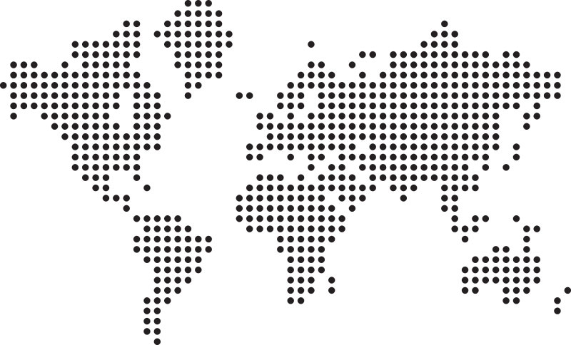 8 Vector Dotted World Map Images - Free Vector World Map, World Map ...