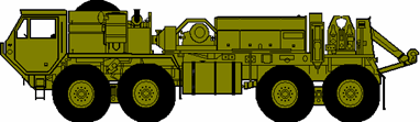 Army Wrecker Vehicle Clip Art