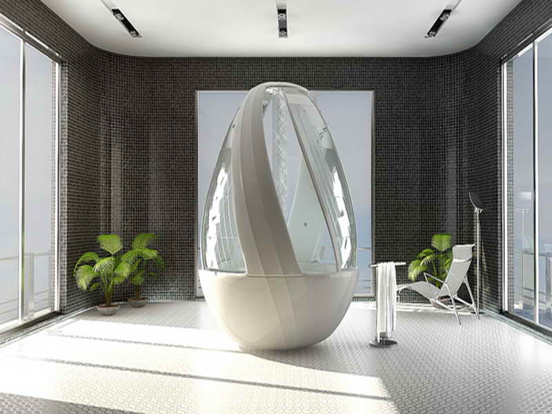 Bathroom Futuristic Interior Design