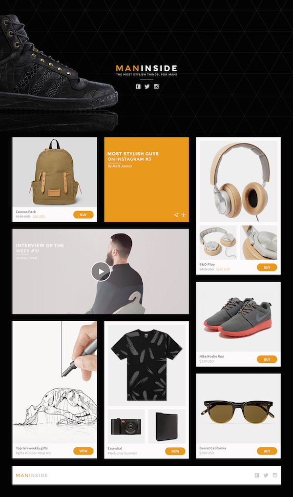 Best Free Website Templates PSD
