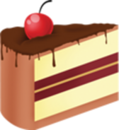 Birthday Cake Slice Icon