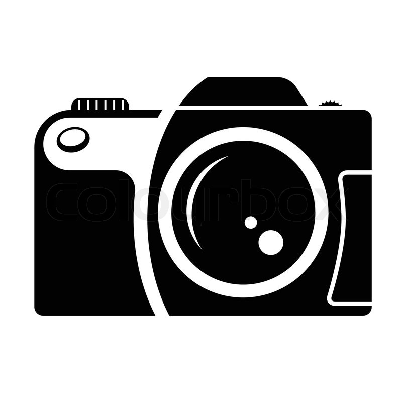 12 Vector Black Camera Images