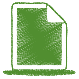 9 Green Document Icon Images
