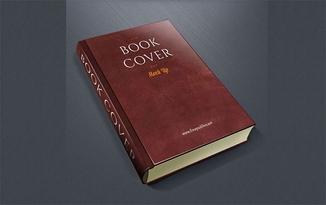 Book Cover Mockup Template PSD