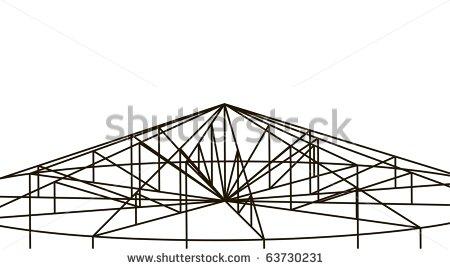 Building Truss Structure