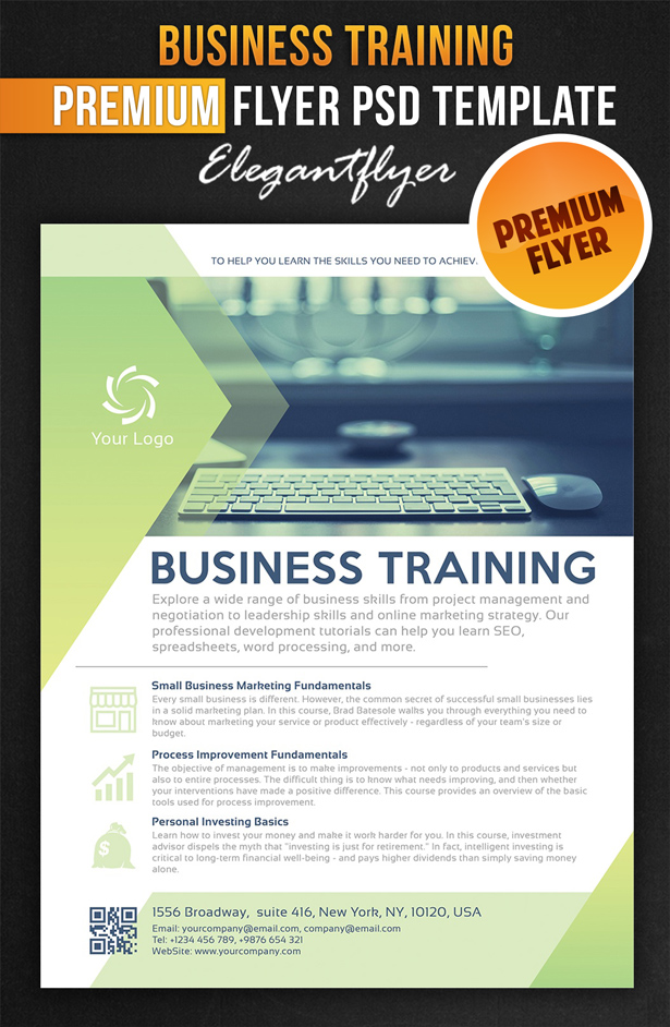 20 business flyer template psd images free business for Business brochure templates psd free download