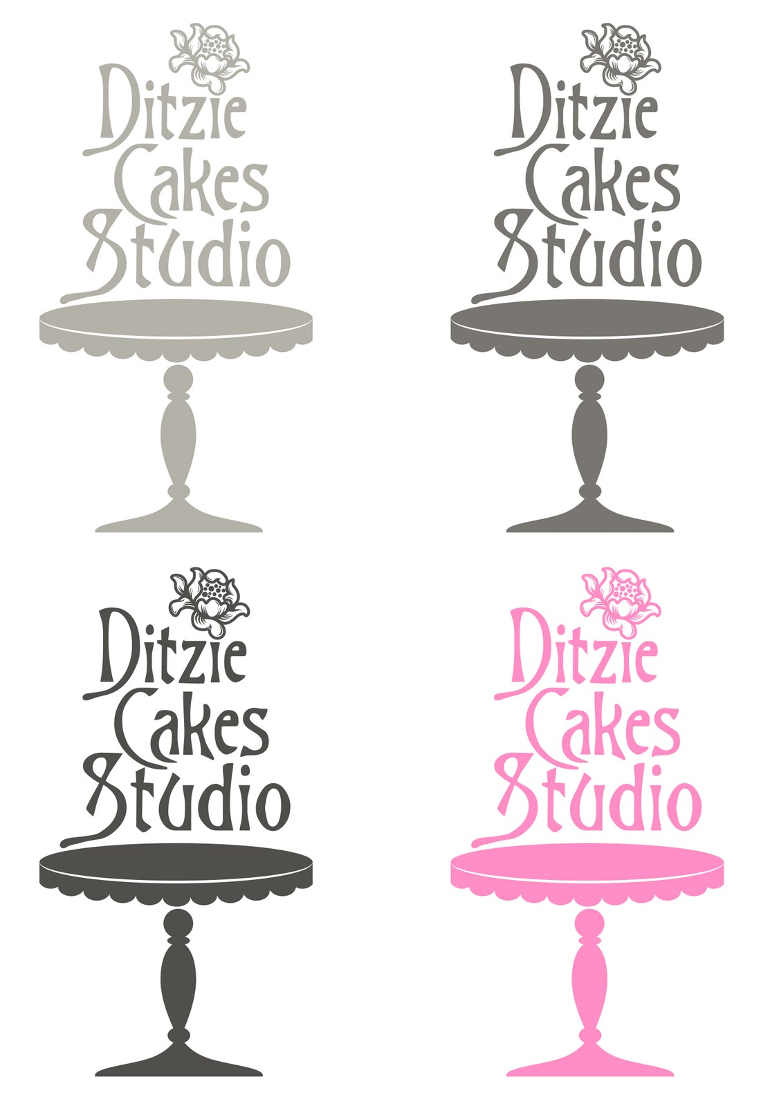 Cake Studio Logo Designs