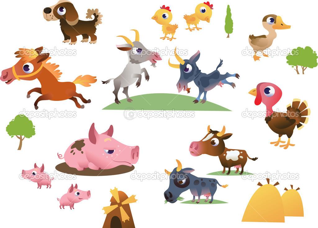 Cartoon Barn Animals | www.imgkid.com - The Image Kid Has It!