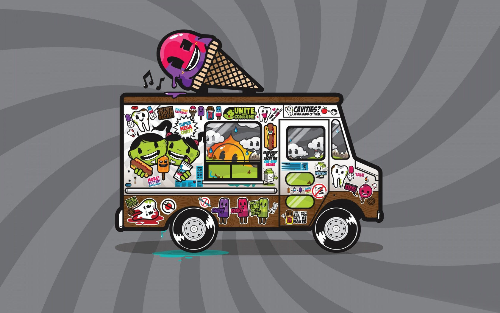 11 Ice Cream Truck Vector Images
