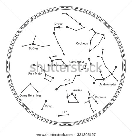 Cepheus Constellation Clip Art