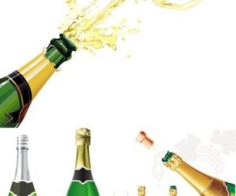 Champagne Bottle Clip Art Free