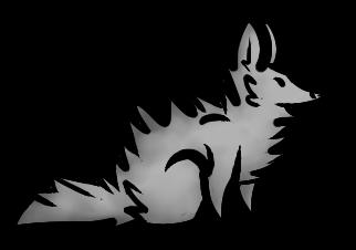 Chibi Fox Line Art