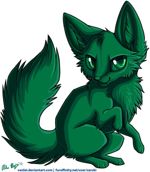 Chibi Fox Template