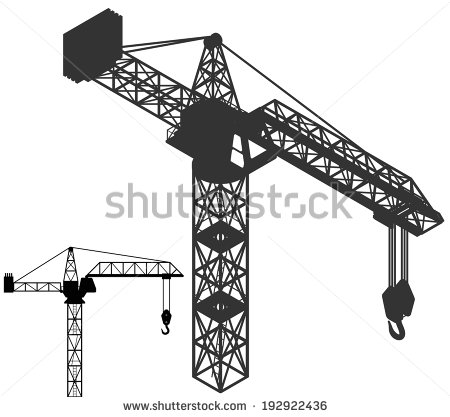 Crane Hook Silhouette