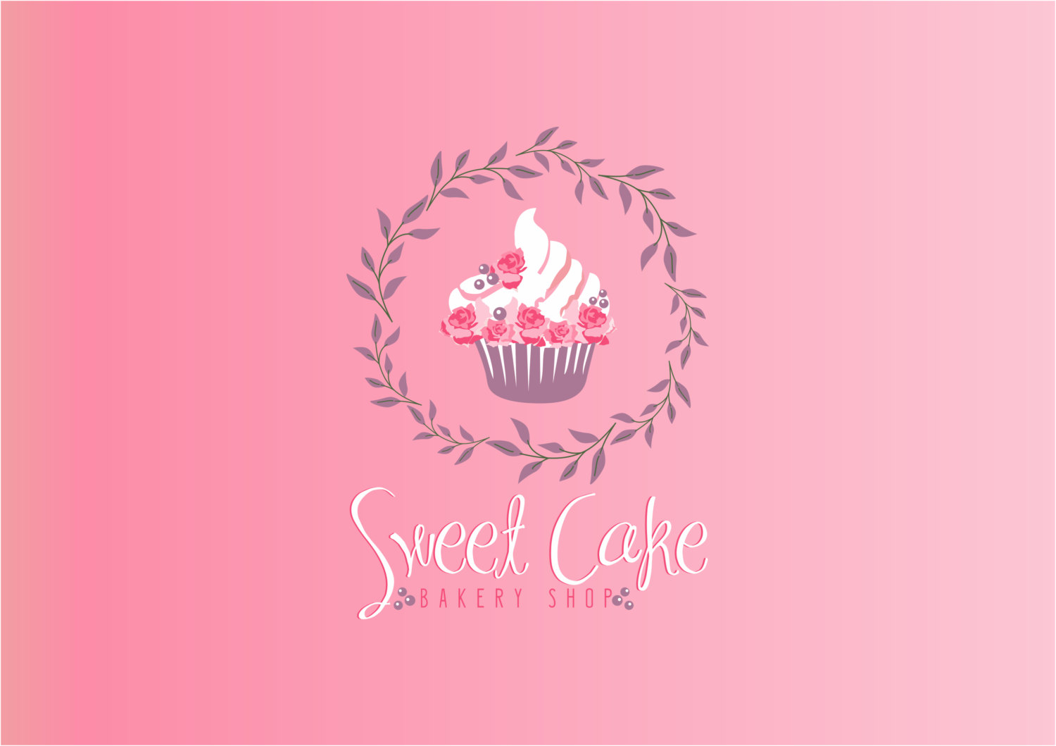 17 Cake Logo PSD Images - Wedding Cake Business Logos ...
