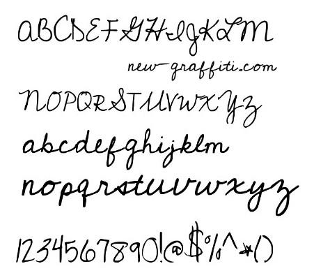 9 Fun Cursive Fonts Images
