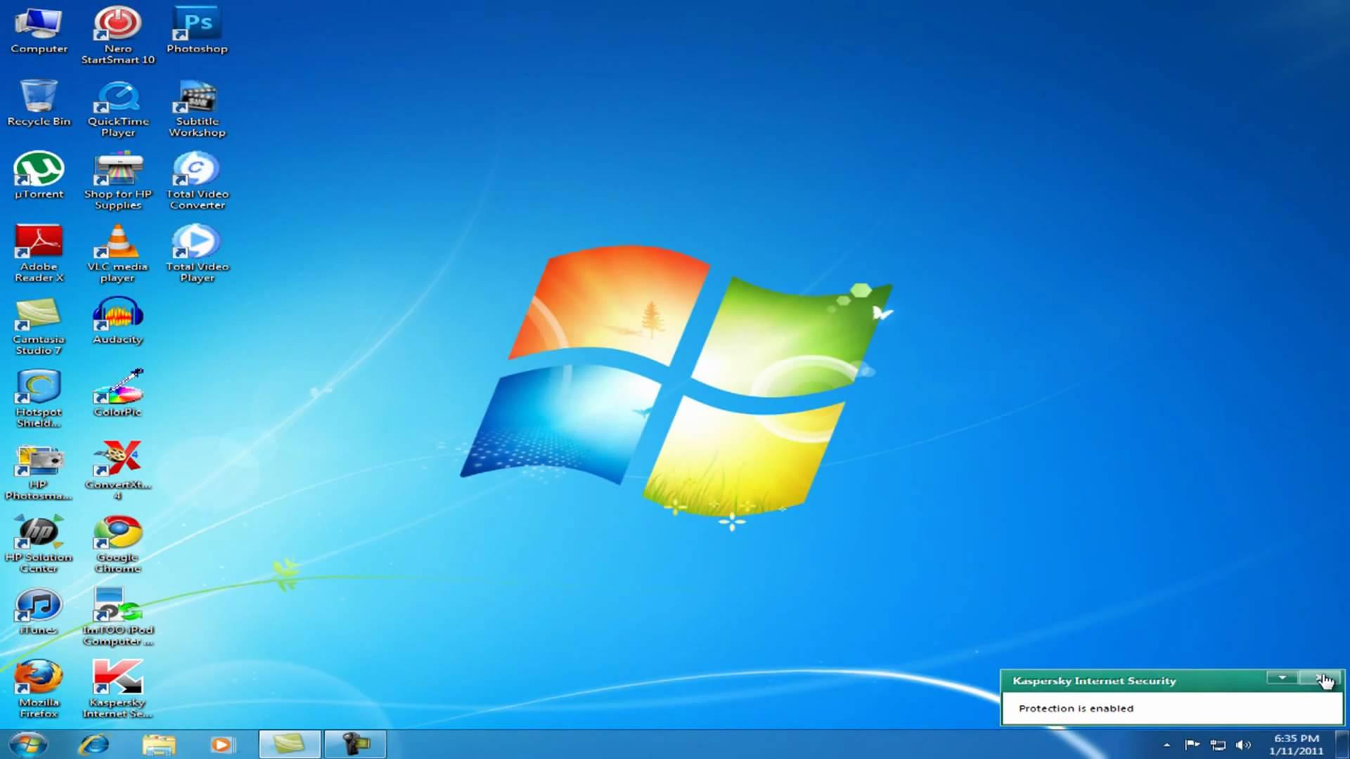 Desktop Computer Icon Windows 7