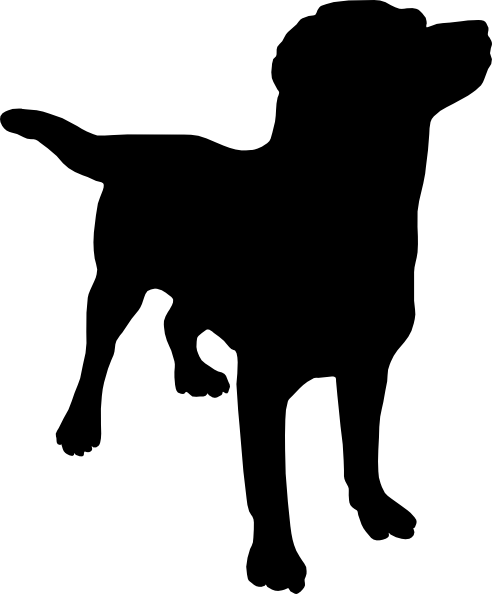 13 Dog Silhouette Vector Images