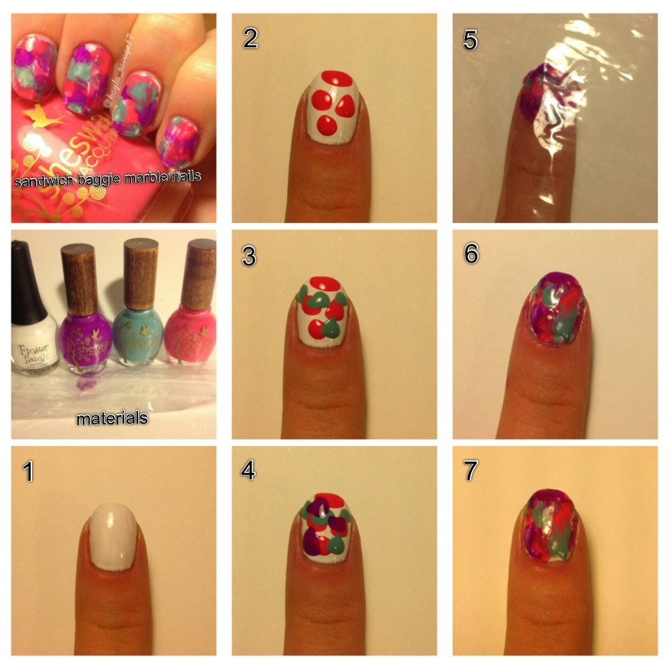 17 Easy Step By Step Nail Designs With Tape Images Easy Nail Designs Step By Step Easy To Do